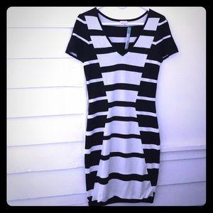 Pixley Loralee Stitch Fix Dress B/W Hourglass M